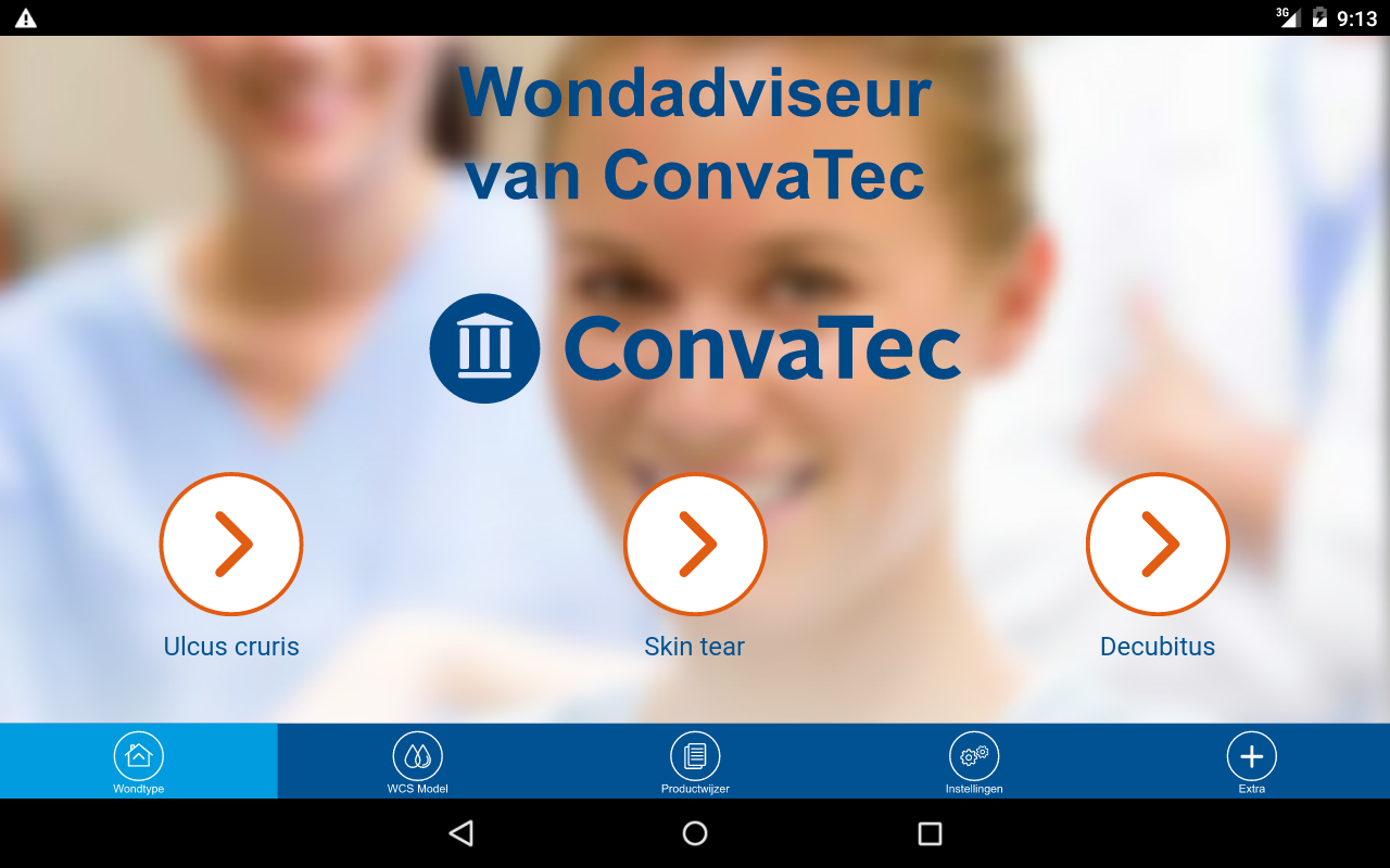 ConvaTec Wondadviseur- screenshot
