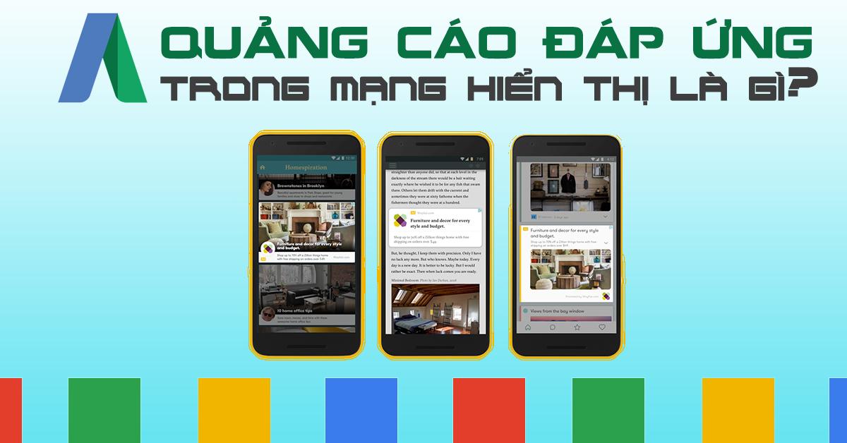 Quảng cáo Google đáp ứng trong mạng hiển thị