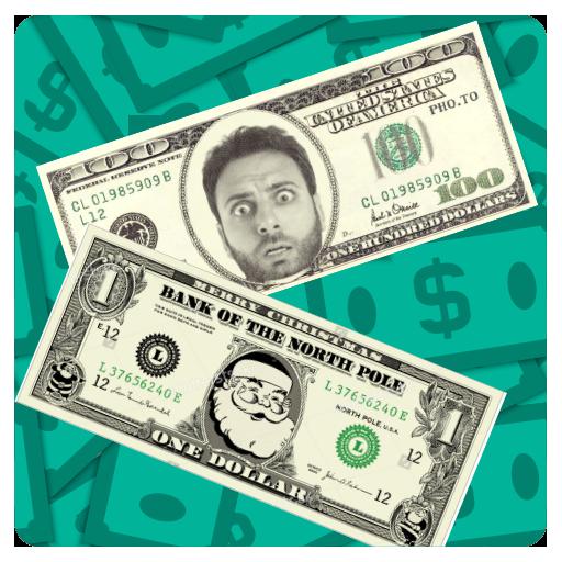 Money Dollar Photo Frames