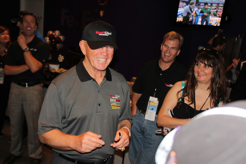 Photo: Coach Joe Gibbs