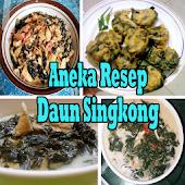 Aneka Resep Daun Singkong