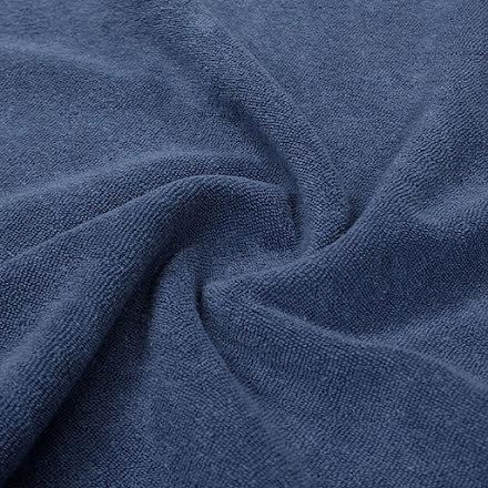 Stretch Frotté - blå