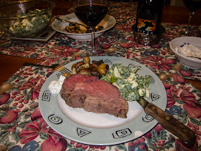 Photo: Day 360-Prime Rib Christmas Dinner