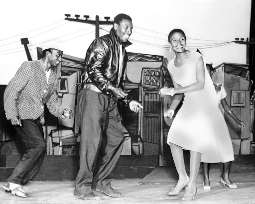 Going back in time: In the original musical, first staged in SA in 1959, Nathan Mdledle starred as boxer Ezekiel 'King Kong' Dlamini; Miriam Makeba played his girlfriend, Joyce