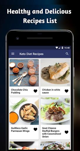 Keto Diet Recipes: Healthy Easy Keto Recipes App 1.0 screenshots 2