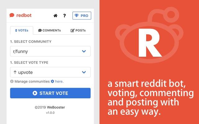 Redbot - A Bot For Reddit