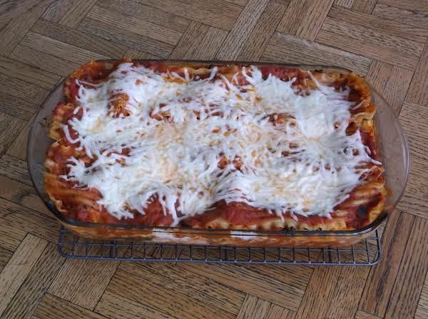 Make-ahead Vegetable Lasagna Recipe