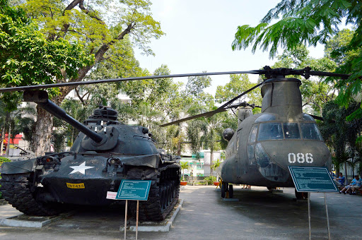 vietnam-tank-helicopter-1.jpg - The War Remnants Museum in Saigon. A sobering must-visit.