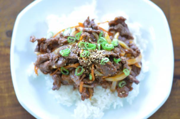 Maeun Bulgogi 매운 불고기 (Spicy Korean Barbecue Beef)
