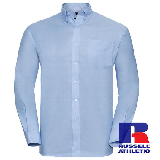 LS ECare Oxfrd shirt, long sleeve Stl, 39/40