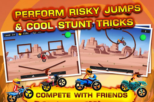Top Bike - best physics bike stunt racing game 5.09.35 screenshots 1