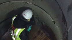 Seal leaking tunnel