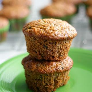 Vegan Zucchini Muffins.