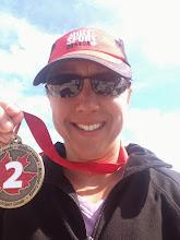 Photo: TMT athlete Michele with a podium finish!