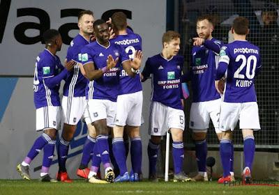 Sans briller, Anderlecht envoie Lokeren en D1B et reste dans le top 6