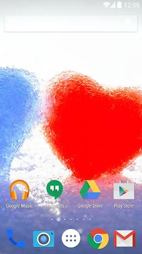 無料个人化Appのロマンチックな壁紙 記事Game