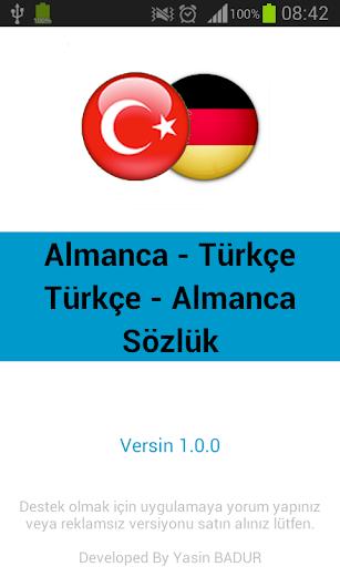 Türkçe Almanca Sözlük