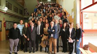 Profesores y alumnos del IES Alborán