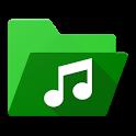 Folder Music Player Pro - Folder Player. icon