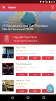 Screenshot of OpenTable: Restaurants Near Me
