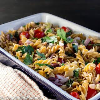 Mediterranean Pasta Casserole - Lots of flavor!.