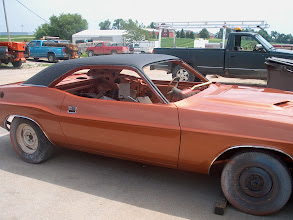 Photo: Hey Jim, your car is finaly painted , just waiting on the stripe