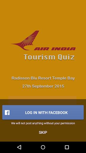 Air India Tourism Quiz