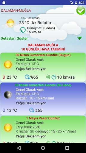 Türkiye Hava Durumu 10 Günlük