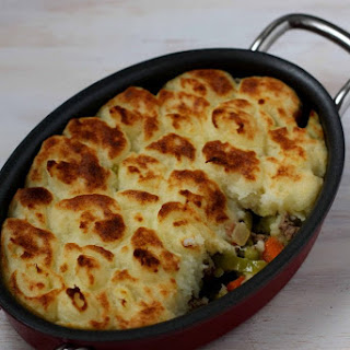 Lamb Shepherd's Pie with Goat Cheese Mashed Potatoes