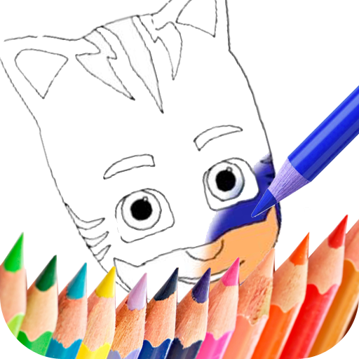 coloring Book for Pj Mask