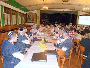 """Photo: Délégués et membres du Choeur """"d'Intrè No"""""""