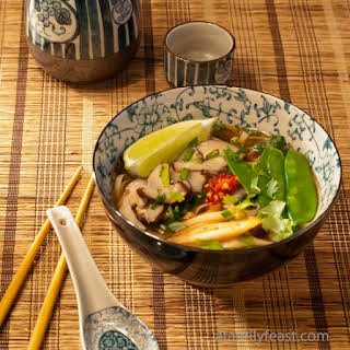 Asian Noodle Soup.