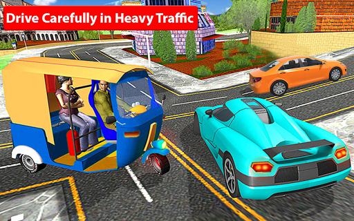 Rickshaw Driving Simulator - Drive New Games screenshots 14