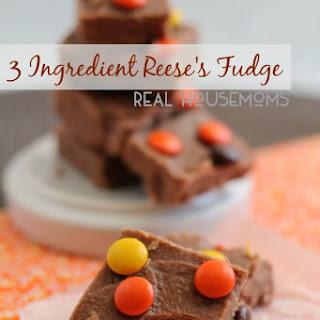 3 Ingredient Reese's Fudge