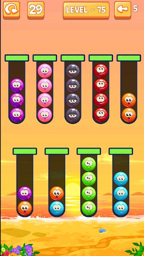Emoji Sort: Color Puzzle Game screenshot 5