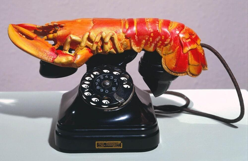 The Lobster Telephone, 1938 by Salvador Dali