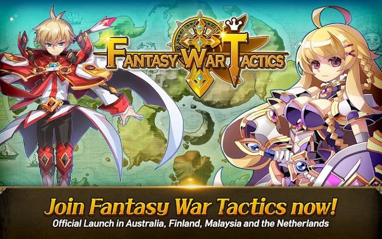android Fantasy War Tactics Screenshot 6