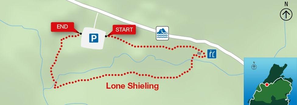 Lone Shieling, Park Narodowy Cape Breton Highlands