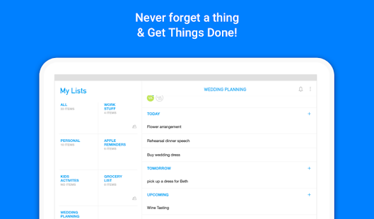 Any.do: To-do list, Calendar, Reminders & Planner- screenshot thumbnail