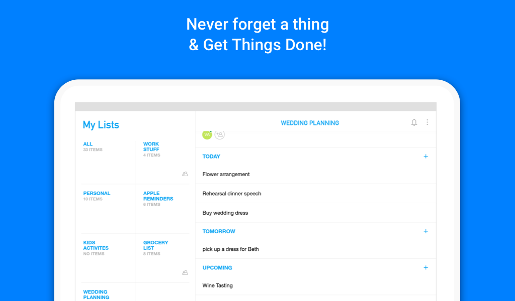 Any.do: To-do list, Calendar, Reminders & Planner- screenshot