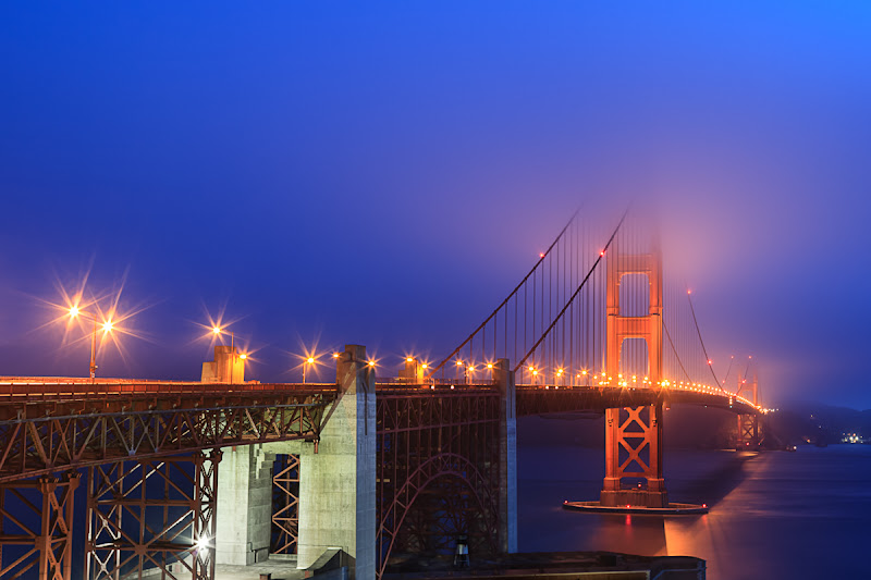 Photo: Feeling Kinda Blue  Another morning of images that I had not even looked at yet, so I processed one to perk me up.  #azure  #jazure #ggb #goldengatebridge