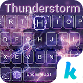 Thunder Storm Keyboard Theme
