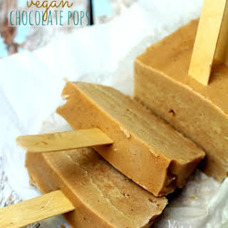 4 Ingredient Vegan Chocolate Pops.