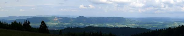 Photo: Panorama na Góry Krucze z Kutná