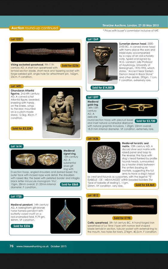 Treasure Hunting magazine- screenshot