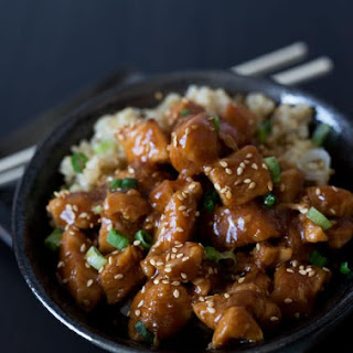 Pressure Cooker Honey Sesame Chicken.