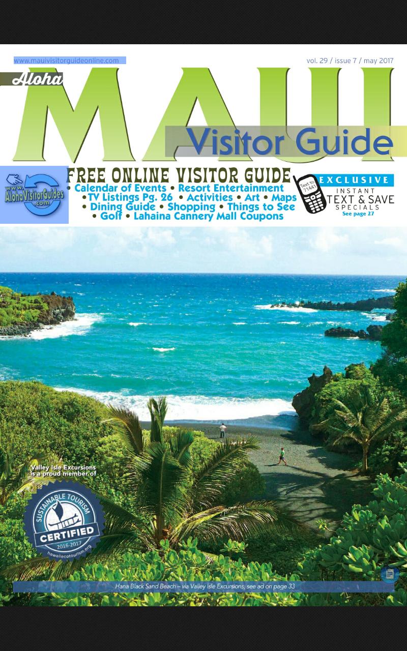 Скриншот Aloha - Maui Visitor Guide