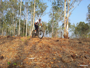 Photo: Bharath Roshan of Cyclopedia(Mysore) was a close 5th in the 2nd loop..