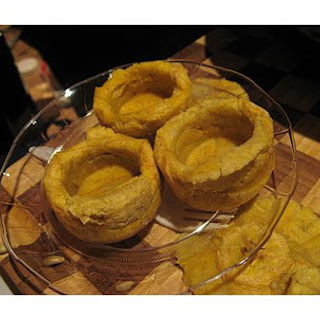 Tostones Rellenos, Stuffed Green Plantain Cups