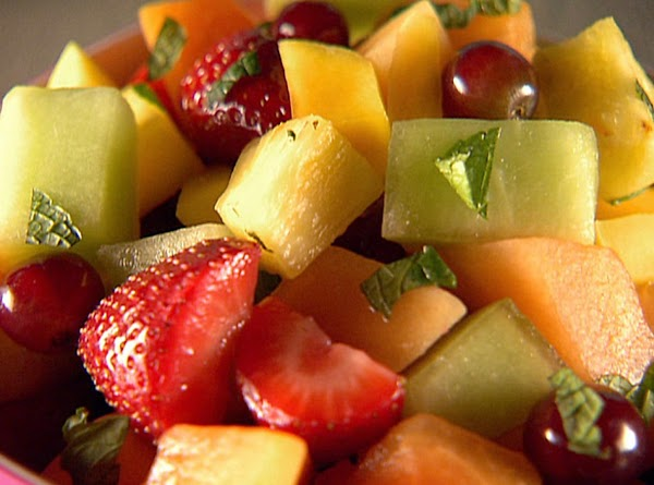Mixed Fruit Salad With Fresh Squeezed Orange Juice Recipe